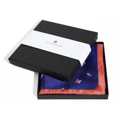 Packaging petit foulard twill de soie carré Z _ _ I
