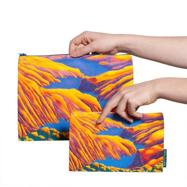 Pochette Rêves martiens Jaune deux tailles disponibles