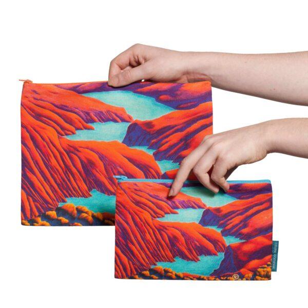 2 tailles disponibles pochette Rêves martiens Rouge